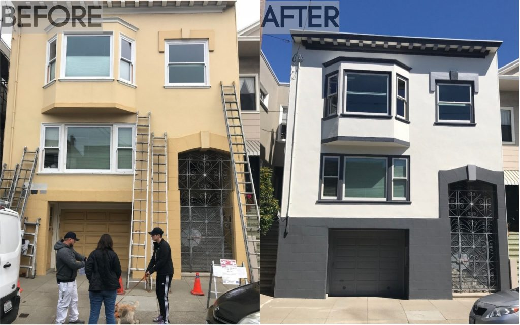 Noe Valley Painting Project