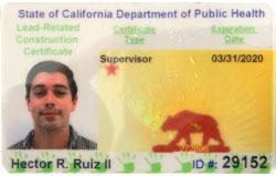 Hector Ruiz Lead Certification